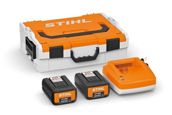 STIHL Akku Power Box 2x AP 300, 1x AL 500